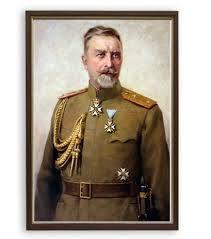 El general Vazov, héroe de la Batalla de Doyran