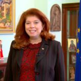 vicepresidente de Bulgaria, Iliana Iotova.